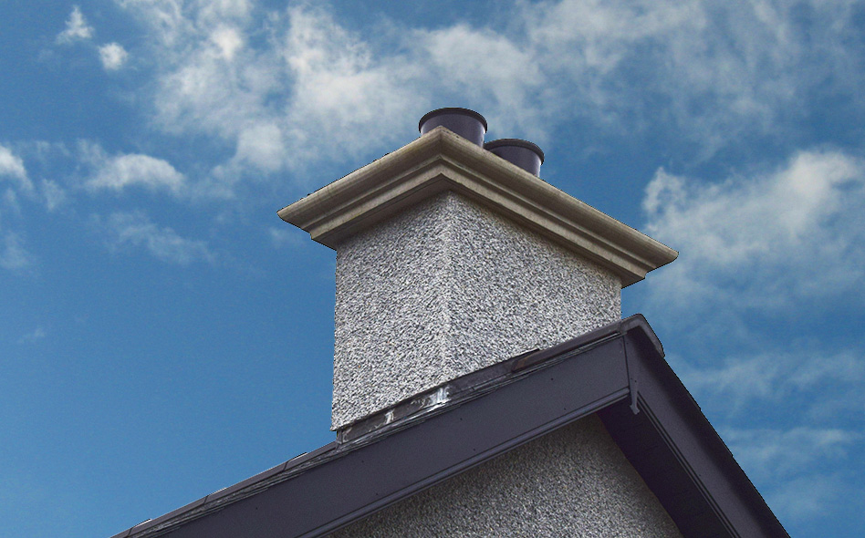 Moulded chimney copings